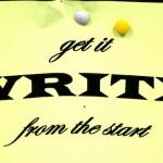 Get it write
